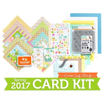 Limited Edition Simon Says Stamp Card Kit HOPPING ALONG 2017 SSSHA17