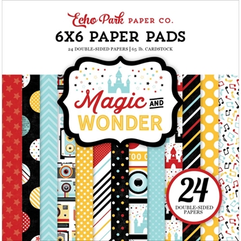 Echo Park MAGIC AND WONDER 6 x 6 Paper Pad MW124023