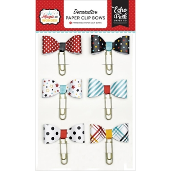 Echo Park MAGIC AND WONDER Paper Clip Bows MW124062