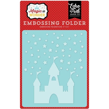 Echo Park STARRY CASTLE Embossing Folder MW124031
