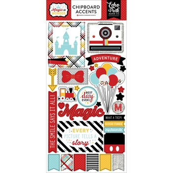 Echo Park MAGIC AND WONDER Chipboard Accents MW124022