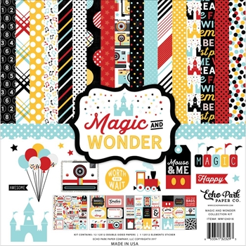 Echo Park MAGIC AND WONDER 12 x 12 Collection Kit MW124016