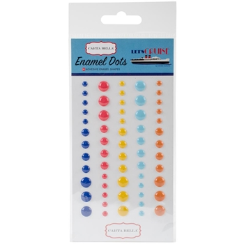 Carta Bella LET'S CRUISE Enamel Dots CBLC65028