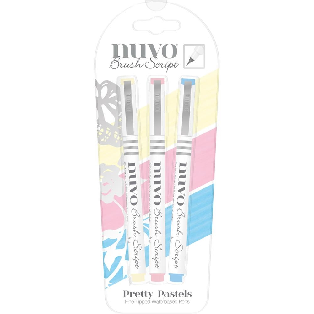 Tonic PRETTY PASTELS Nuvo Brush Script Pens 112N zoom image