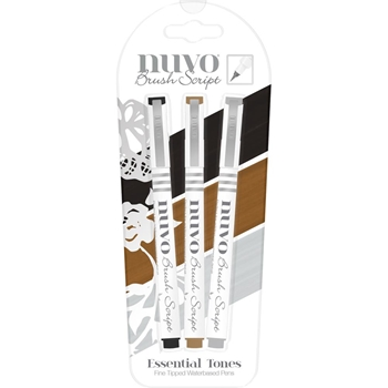 Tonic ESSENTIAL TONES Nuvo Brush Script Pens 110N