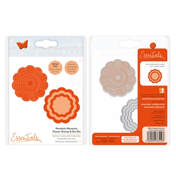 Tonic FLOWER Mandala Moments Stamp And Die Set 1550E
