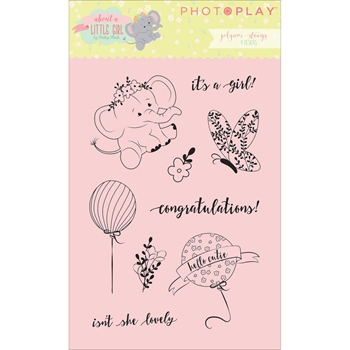 PhotoPlay ABOUT A LITTLE GIRL Clear Stamps ALG2469