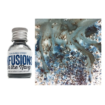 Paper Artsy IN THE NAVY Infusions Colored Stain CS15
