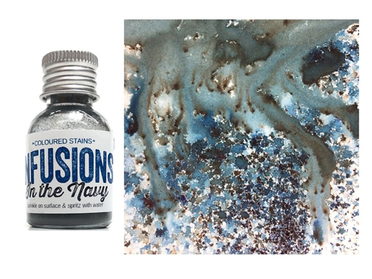 Paper Artsy IN THE NAVY Infusions Colored Stain CS15 zoom image