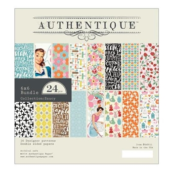 Authentique 6 x 6 SAUCY Paper Pad SAU011