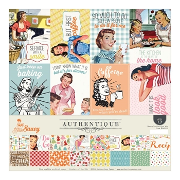 Authentique SAUCY 12 x 12 Collection Kit SAU012