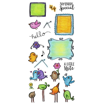 Inky Antics MAIL BIRDS Clear Stamp Set 11358LC