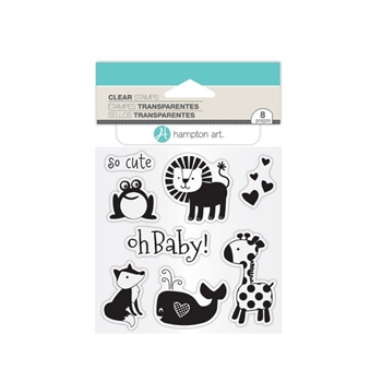 Hampton Art OH BABY! Clear Stamp Set SC0764