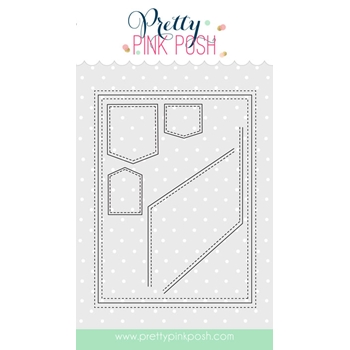Pretty Pink Posh STITCHED NOTES Die Set