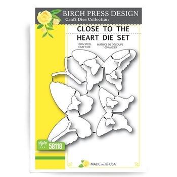 Birch Press Design CLOSE TO THE HEART Craft Die 58118