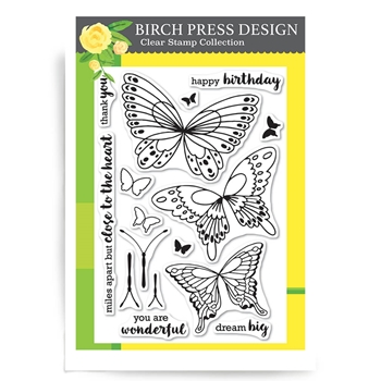 Birch Press Design CLOSE TO THE HEART Clear Stamps CL8118