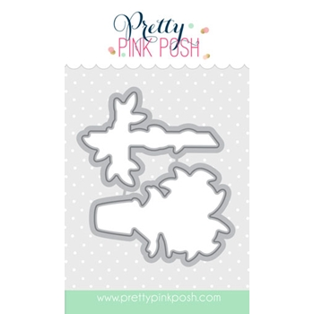 Pretty Pink Posh EASTER BLESSINGS COORDINATING DIE Set
