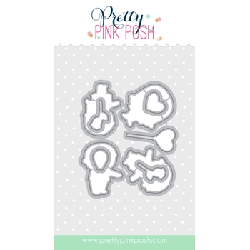 Pretty Pink Posh FRIENDS FOREVER COORDINATING DIE Set
