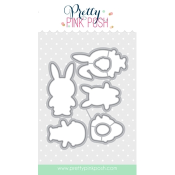 Pretty Pink Posh EASTER FRIENDS COORDINATING DIE Set