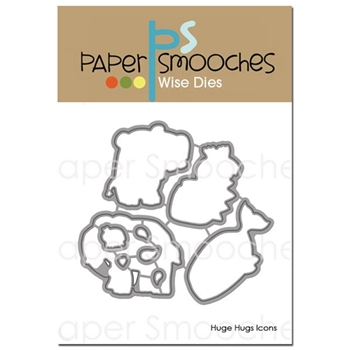 Paper Smooches HUGE HUGS ICONS Wise Dies M1D375