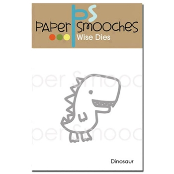 Paper Smooches DINOSAUR Wise Die M1D374