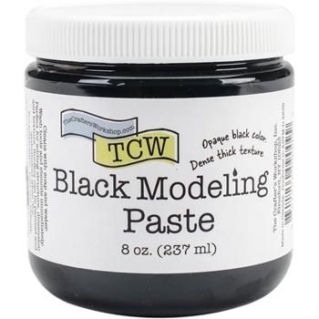 The Crafter's Workshop BLACK MODELING PASTE TCW9009
