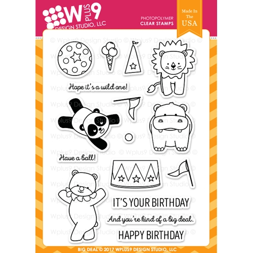 Wplus9 BIG DEAL Clear Stamps CLWP9BD Preview Image