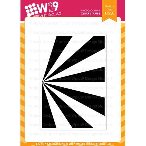 Wplus9 BIG TOP BACKGROUND Clear Stamp CLWP9BTB Preview Image