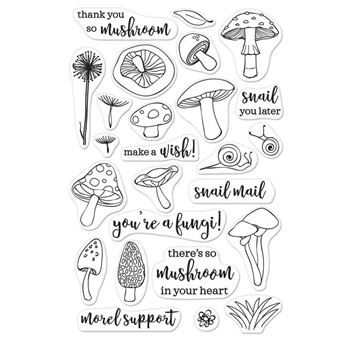 Hero Arts Clear Stamp YOU'RE A FUNGI CM158