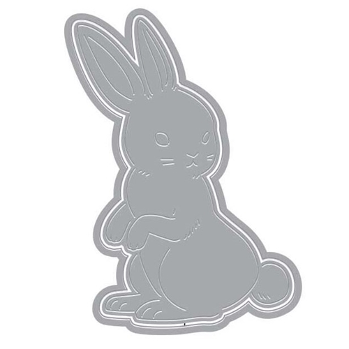 Hero Arts Fancy Die Paper Layering RABBIT with Frame DI371 Preview Image