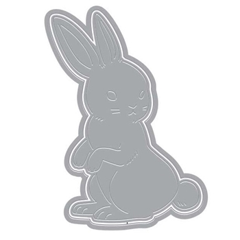 Hero Arts Fancy Die Paper Layering RABBIT with Frame DI371