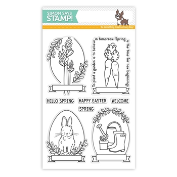 Simon Says Clear Stamps SPRING SEEDS SSS101700 New Beginnings