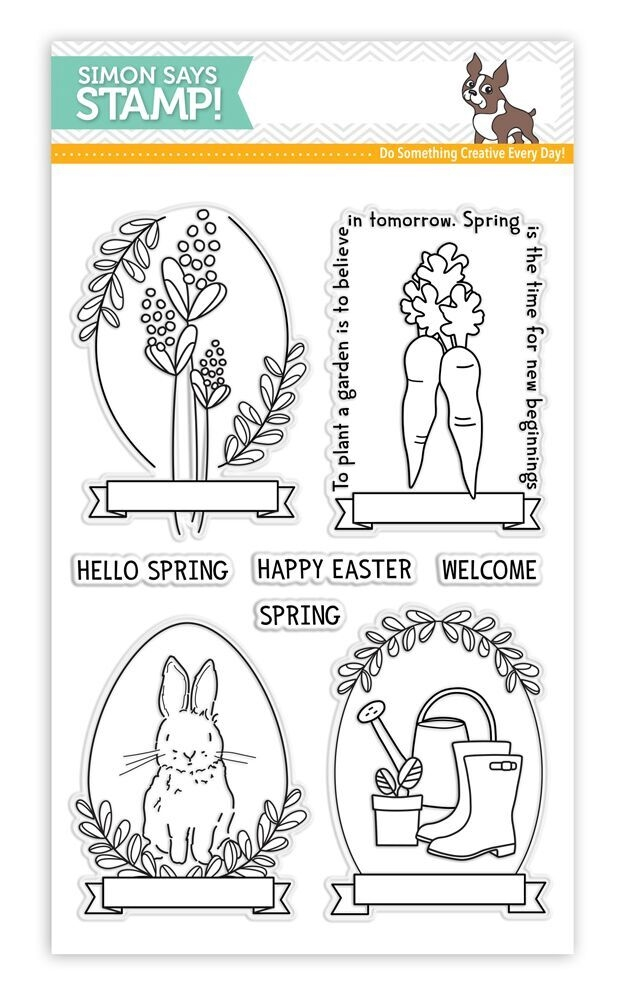 Simon Says Clear Stamps SPRING SEEDS SSS101700 New Beginnings zoom image