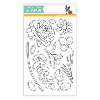 Simon Says Clear Stamps MORE SPRING FLOWERS SSS101703 New Beginnings