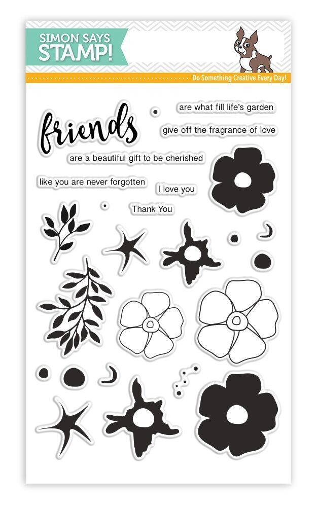 Simon Says Clear Stamps FRIENDS OF LIFE