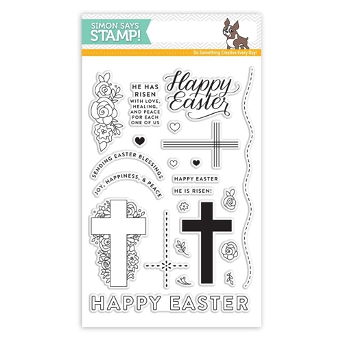 Simon Says Clear Stamps HAPPY EASTER SSS101730 New Beginnings Preview Image