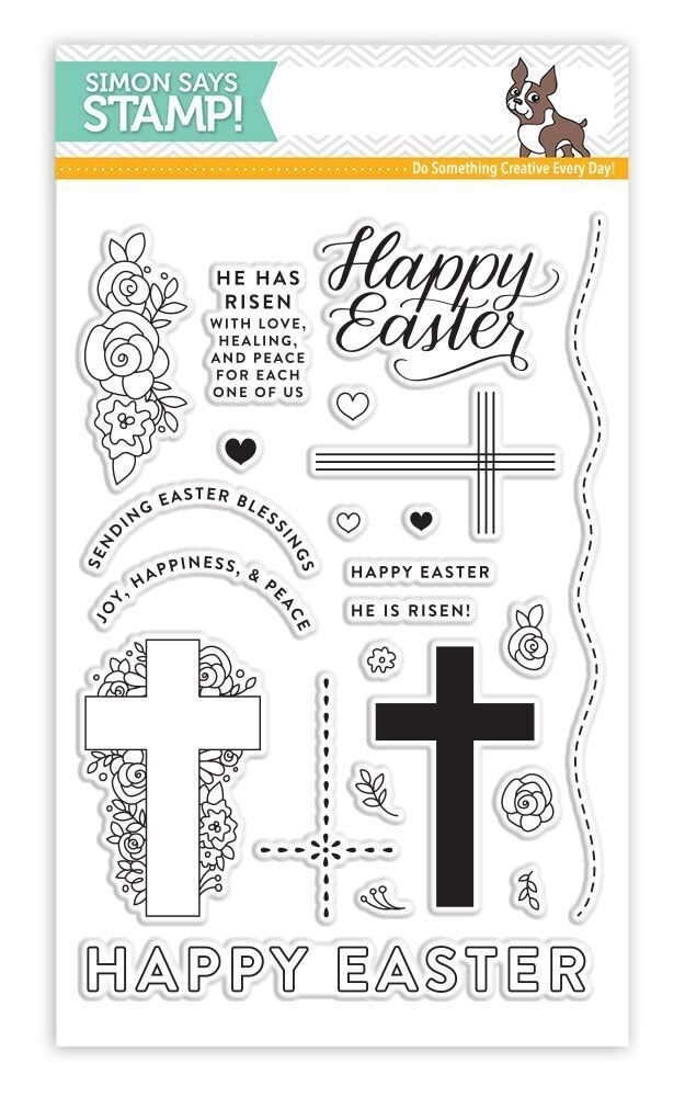 Simon Says Clear Stamps HAPPY EASTER SSS101730 New Beginnings zoom image