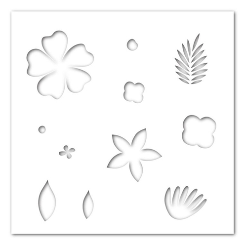 Simon Says Stencils HOPE BLOOMS SSST121392 New Beginnings Preview Image