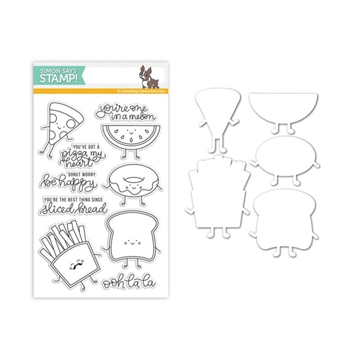 Simon Says Stamps And Dies FUNNY FOOD Set289FF New Beginnings Preview Image