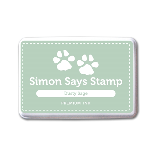 Simon Says Stamp Premium Dye Ink Pad DUSTY SAGE INK081 New Beginnings Preview Image