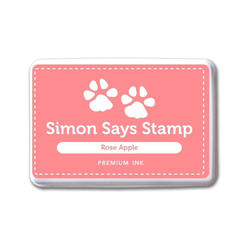 Simon Says Stamp Premium Dye Ink Pad ROSE APPLE INK085 New Beginnings Preview Image
