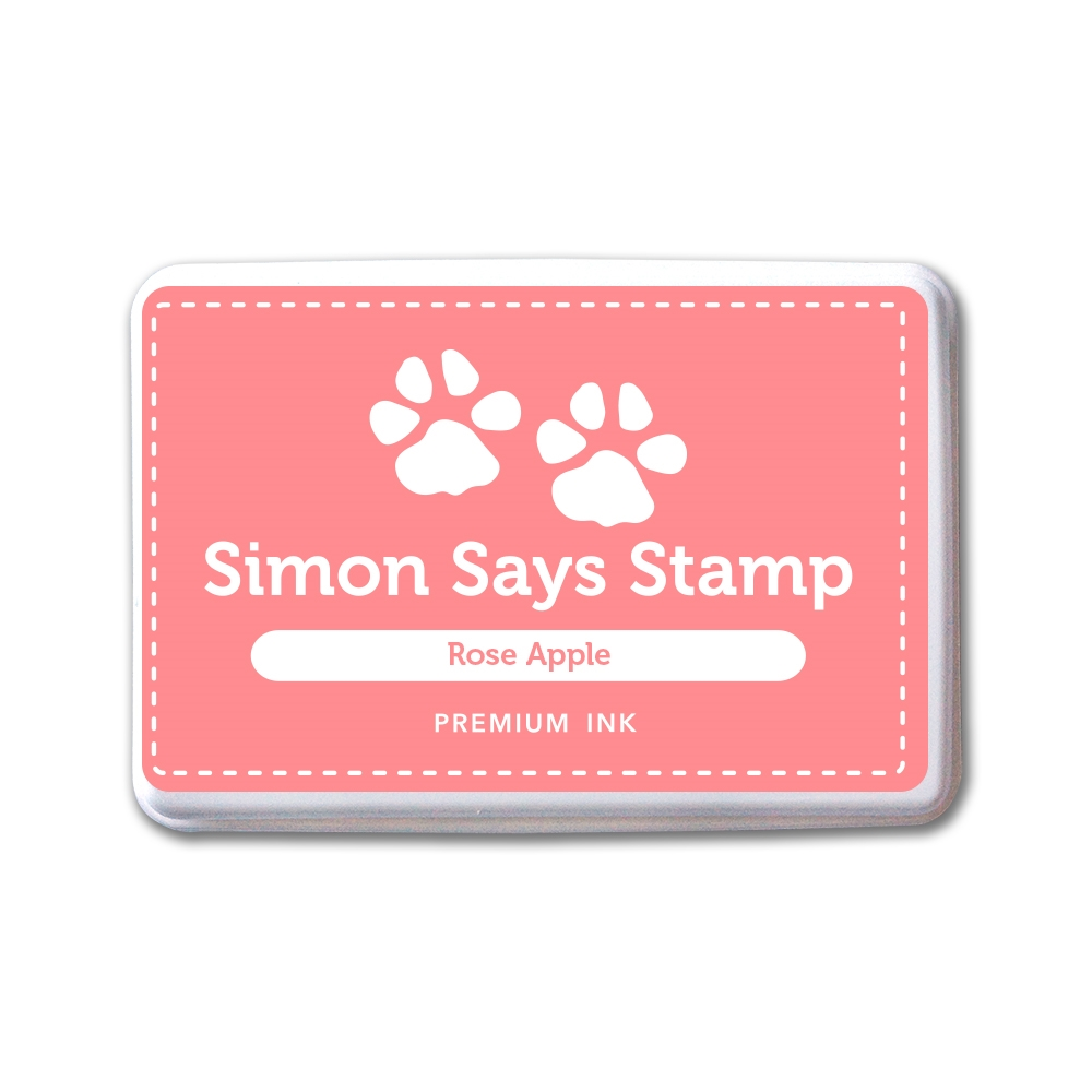 Simon Says Stamp Premium Dye Ink Pad ROSE APPLE