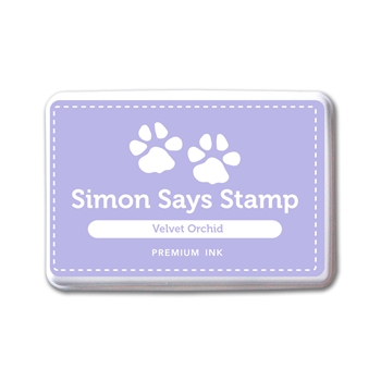 Simon Says Stamp Premium Dye Ink Pad VELVET ORCHID INK087 New Beginnings