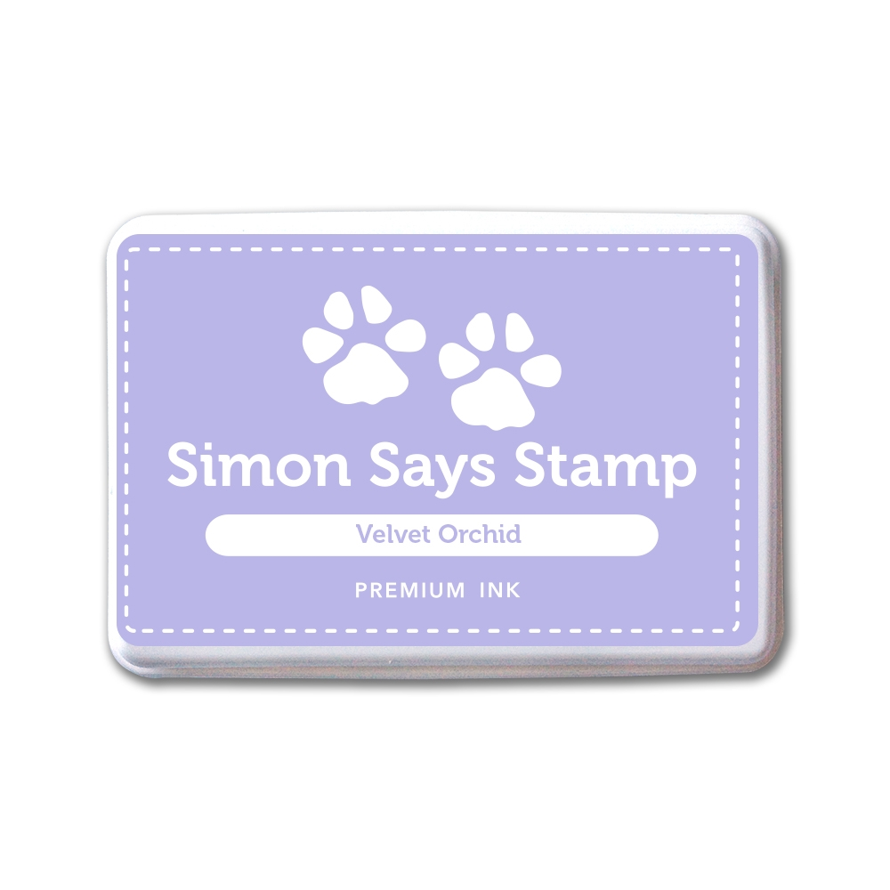 Simon Says Stamp Premium Dye Ink Pad VELVET ORCHID INK087 New Beginnings zoom image
