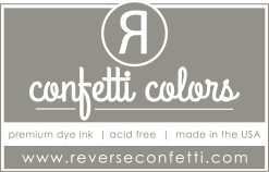Reverse Confetti STORMY Dye Ink Pad