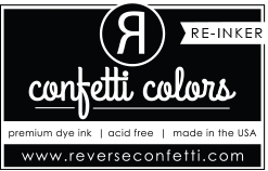 Reverse Confetti MIDNIGHT DYE RE-INKER