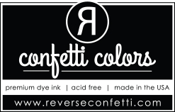 Reverse Confetti MINI MIDNIGHT Dye Ink Pad Cube
