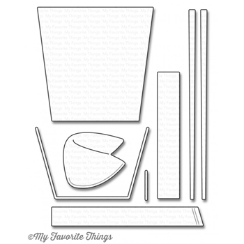 My Favorite Things CHINESE TAKEOUT Die-Namics MFT1051