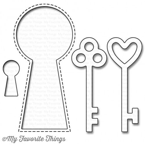 My Favorite Things LOCK AND KEY Die-Namics MFT1042 Preview Image