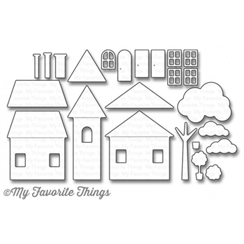 My Favorite Things HOME SWEET HOME Die-Namics MFT1041